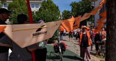 Aufruf zur Seebrücke-Demo am 10. Mai